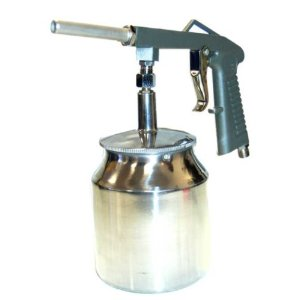 TCPglobal Brand Pneumatic Air Undercoating Gun with Suction Feed Cup