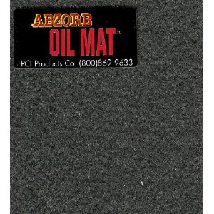 Garage Oil Abzorb Mat for Under Cars, Size 3' x 5', Ships for 2.99