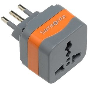 Samsonite Grounded Adaptor Plug - Italy