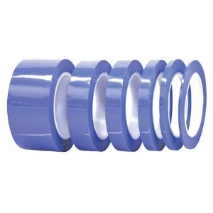 Powder Coating High Temp Masking Tape Kit 6 Rolls Blue