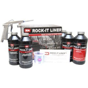 SEM TINTABLE ROCK-IT LINER TRUCK BED LINER KIT WITH GUN