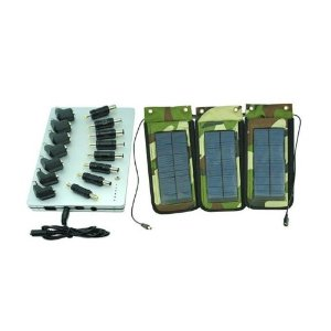 Outdoor Portable Solar Charger + Premium External Power Bank For HP, Compaq, Lenovo/IBM, Toshiba, Dell, Acer, Asus, Sony Laptops
