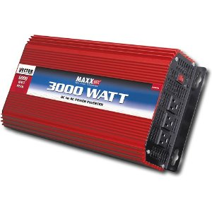 Vector VEC051D 3,000 Watt D/C To A/C Power Inverter With Power Level Meter