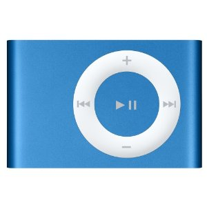 Apple iPod shuffle 1 GB New Bright Blue (2nd Generation) [Previous Model]