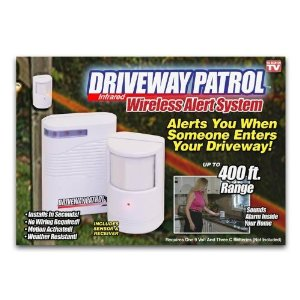 Home Security Driveway Patrol Infrared Wireless Home Security Alarm System.
