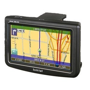 "Initial GM-510 5"" Touch Screen GPS Navigation Unit"
