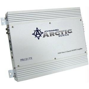 PYRAMID PB1217X 1600 Watt 2 Channel Bridgeable MOSFET Amplifier