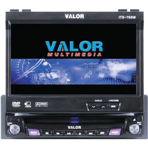 Valor ITS-700W 7-Inch In Dash DVD Monitor
