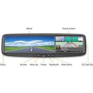 Escort 84-000002-01 Smart Mirror GPS Navigator