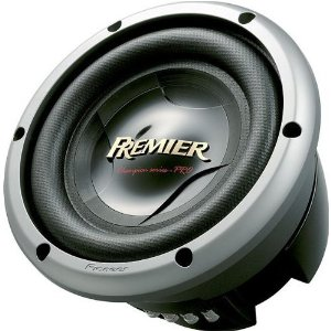 Pioneer TS-W2502D2 10 In. Champion Series PRO Subwoofer with 3000 Watts