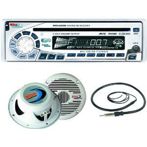 Boss Marine MR1462W Marine Audio System White