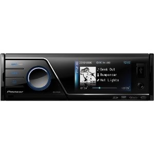 Pioneer MVH-P8200 Multimedia AV Receiver with 3 In. Color Display