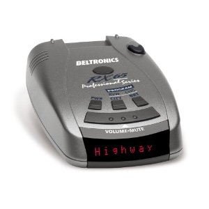 Beltronics RX65 RED Professional Series Radar (Black/Silver)