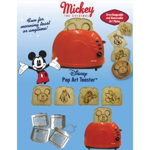 Disney Mickey & Friends 2 Slice Toaster
