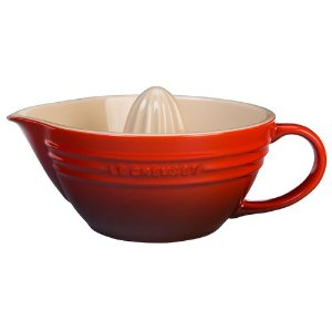 Le Creuset Stoneware Cherry Red Citrus Juicer 16-oz.