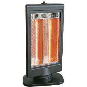 Comfort Zone CZHTV9 Flat Panel Halogen Heater