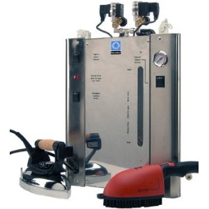 Reliable Professional 9 Liter Stainless Steel Steam Boiler Ironing System with Two Irons