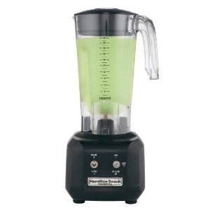 Hamilton Beach HBB250 Commercial Rio Bar Blender with 44-Ounce Polycarbonate Container, Black