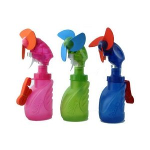 O2 Cool 2059 Squeeze Breeze Misting Fan - Assorted Colors