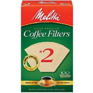 Melitta #622752 100CT#2 Brown Cone Filter