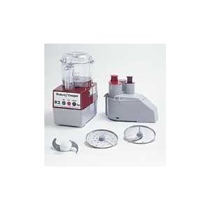 Commercial Food Processor with Clear Bowl Attachment