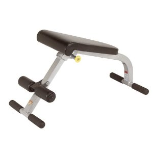 Trion Fitness Folding Ab Bench by HOIST