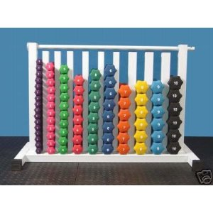 Neoprene Dumbbells 86 Pieces with Free safety Rack