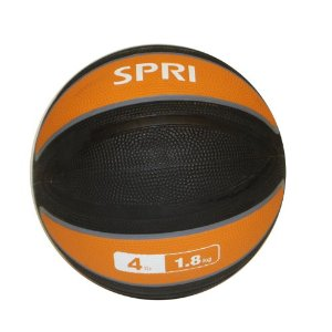 SPRI Xerball 4-Pound Medicine Ball (Orange)