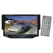 PYLE PLD7MU 7-Inch Single DIN TFT Touch Screen DVD/VCD/CD/MP3/CD-R/USB/SD/AM/FM/RDS Receiver