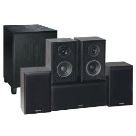 Advent AHT850 Home Theater 6-Speaker System (Black Ash)