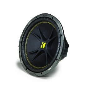 Kicker Comp 07C104 10-Inch 4-Ohm Subwoofer