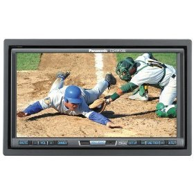 Panasonic Car Audio CQVW100U 7-Inch In-Dash Car DVD Receiver