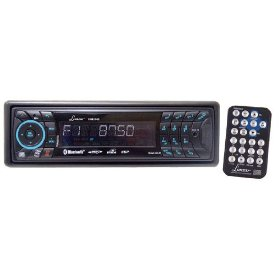 Lanzar VBD2500 In-Dash AM/FM Radio Reciever with CD/MP3 Player, Detachable Face, USB/SD Port, and Bluetooth Capability