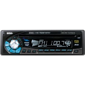 Boss Audio 610CA CD Receiver with Detachable Front Panel