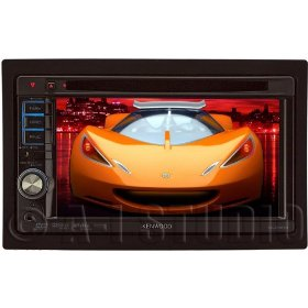 Kenwood DDX514 6.1-Inch Wide In-Dash Monitor with USB/iPod Direct Control/DVD Receiver