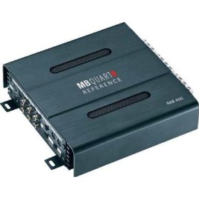 MB QUART RAB450 Car Audio 4-Channel Mosfet Amplifier