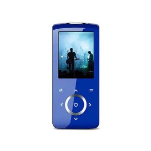 Coby MP705-2GBLU 2-Inch TFT Color LCD and 2GB Flash Memory with FM and Touchpad Control MP3 Player (Blue)