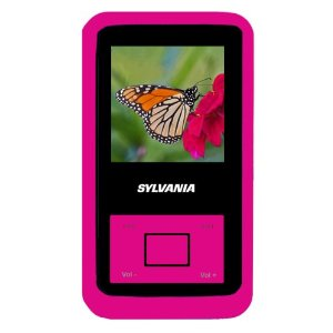 Sylvania 2GB MP3 Player with Video and Rubberized Finish (Pink)