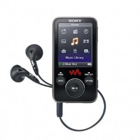 Sony 4 GB Walkman Video MP3 Player NWZ-E436F (Black)