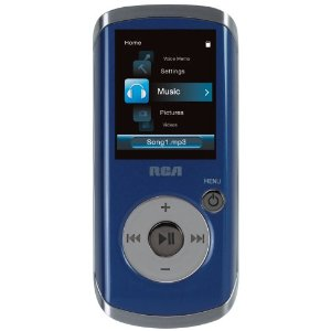 RCA Opal 4 GB Video MP3 player with 1.8-inch Display, FM Radio, and Voice Recording (Blue)