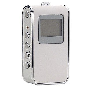 Kinamax MP3-8872 Mini Portable Digital MP3 Player (White)