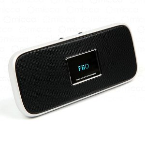FiiO S5 MP3 and FM Portable Audio System With Amplified Speakers (Pearl White)