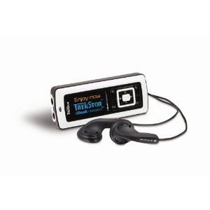 TrekStor i.Beat Classico FM 2 GB MP3 Player (Black and white)