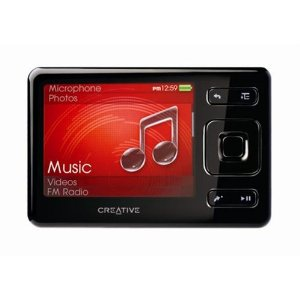 Creative Zen 2 GB Portable Media Player (Black)