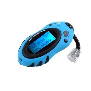 Sylvania 1GB Sport Style MP3 Player (Blue)
