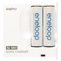 Eneloop secmdr02tg3u charger compact for aa2 aaa2 110 220v