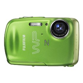 Fujifilm FinePix Z33WP 10 MP Waterproof Digital Camera with 3x Optical Zoom (Green)