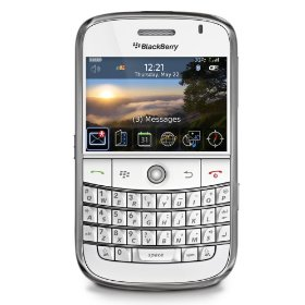 Blackberry 9000 Bold Unlocked Phone  (White)
