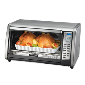 B&d cto6301toaster oven digital 6slice touchpad