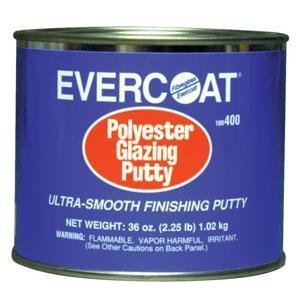 Fibreglass Evercoat (FIB400) Polyester Glazing Putty Quart